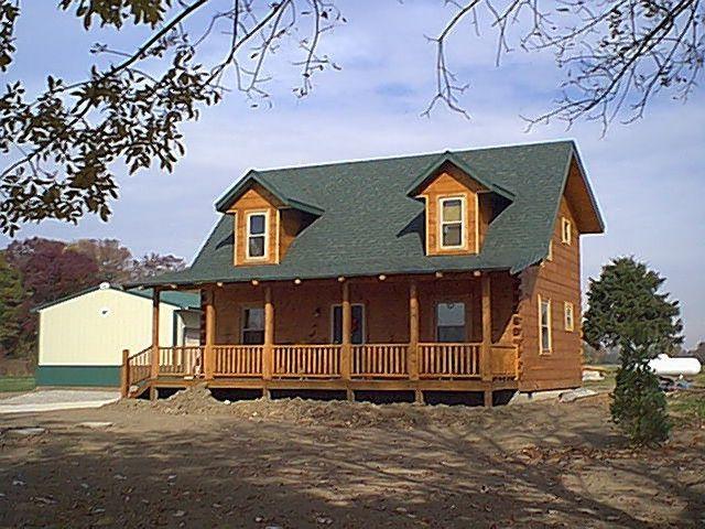 Details about Hall Fork Log Cabin Home Kit / Package Log