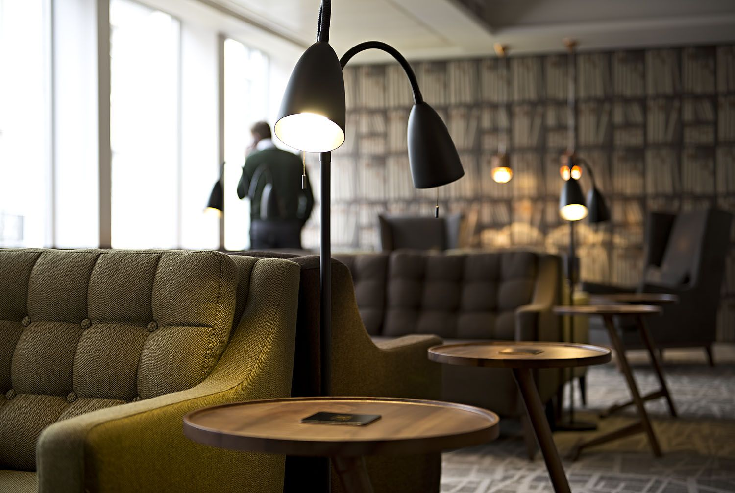 The Club House, Business lounge. Work in comfort from