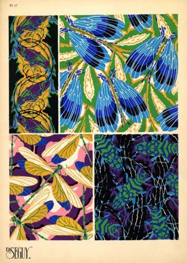 Insectes Patterns Segins 020 Ncsu Libraries Rare And Unique Digital Collections Ncsu Libraries Rare And Unique Digital C Art Insect Art Insect Print