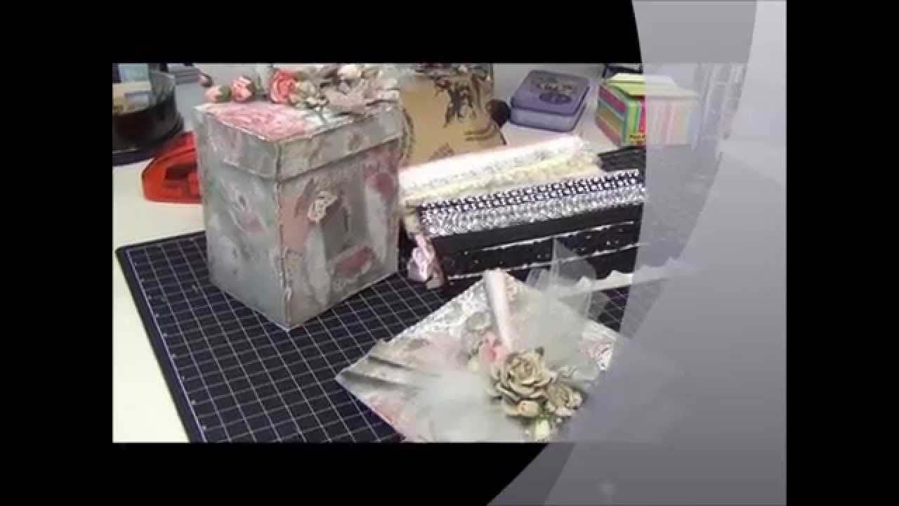 Quick Gift Idea   Altered box, Lace tags & Card