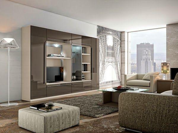 Sala moderna centro de ocio kiki pinterest centros for Ocio muebles