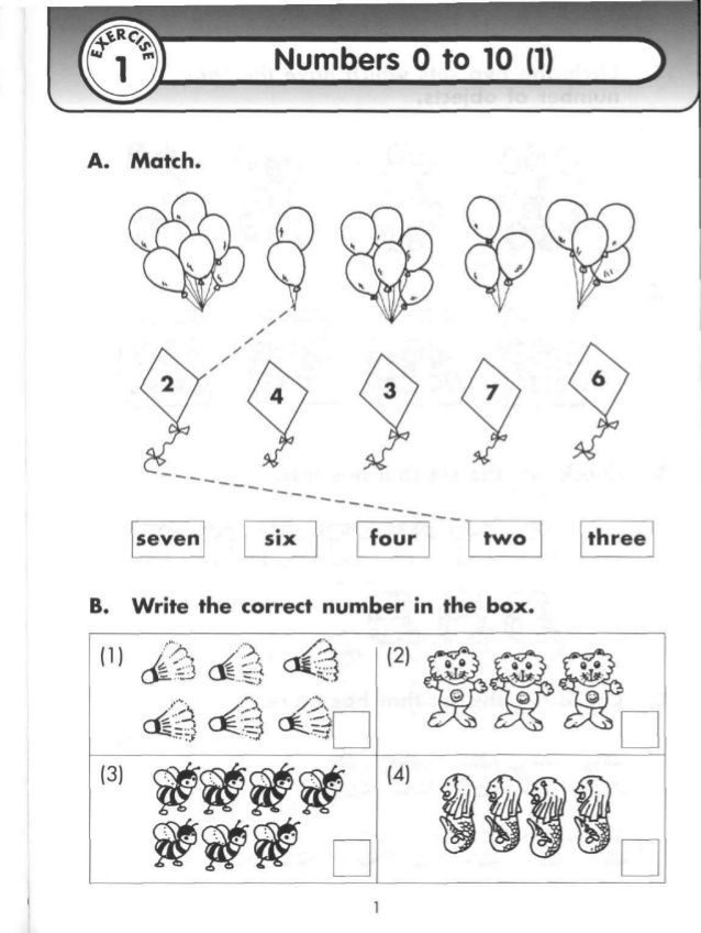 {Singapore primary mathematics 1 extra practice – Math Worksheets for Primary 1