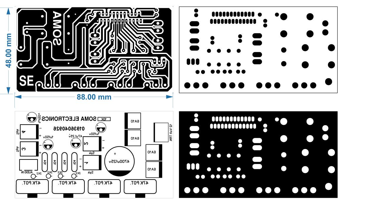 Pin on TDA 7388 Amplifier Circuit Diagram