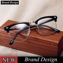 1f0722d371 Vintage Clásico Marcos de Gafas Hombre Mujer Gafas Grado Óptico Miopía  Montura…