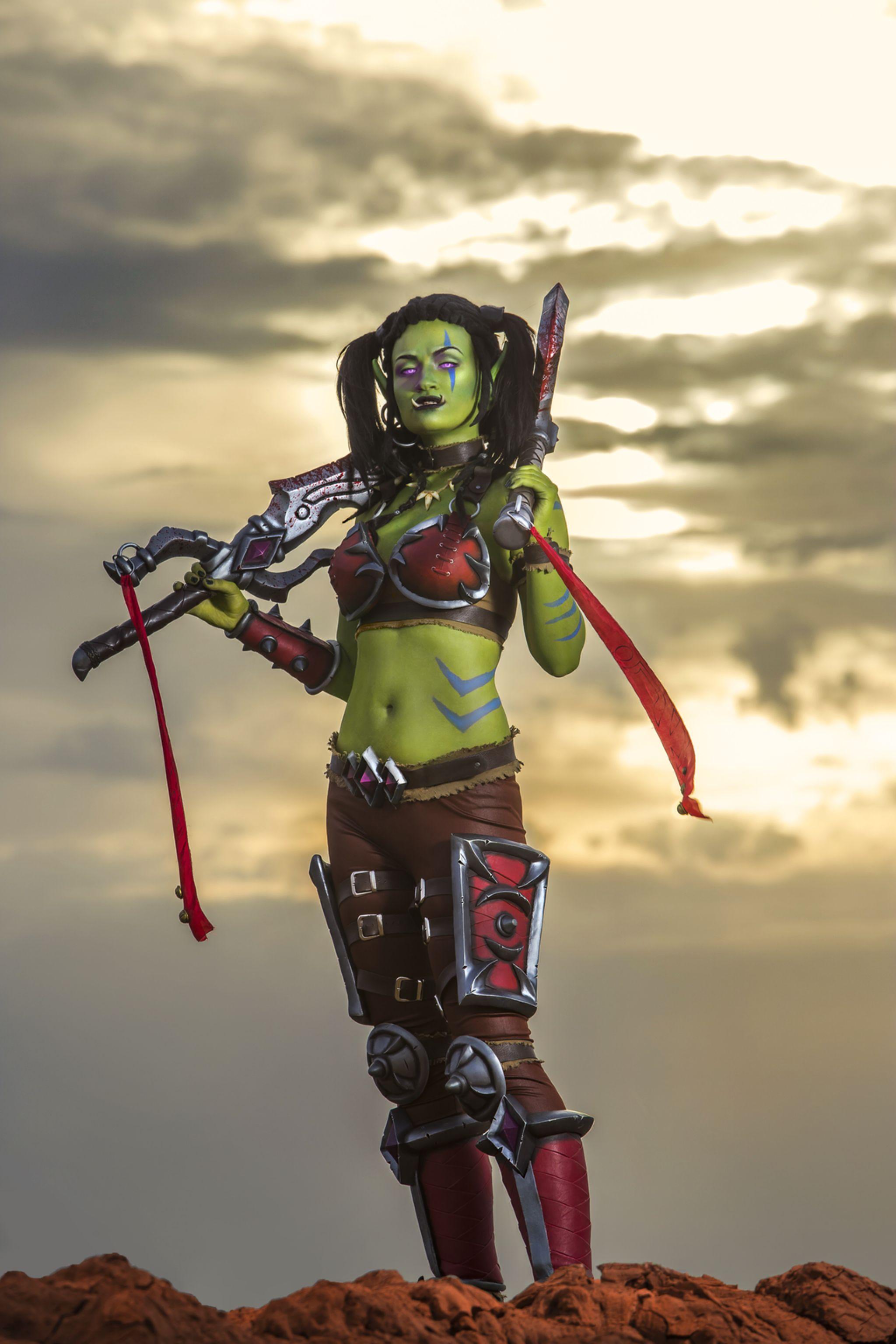 Garona Halforcen - World of Warcraft cosplay by Lynx-cosplay on @DeviantArt