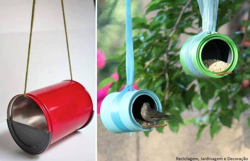 Cómo Hacer Comedero Para Aves Http Www Labioguia Com Casa De Pajaros Con Botellas De Plastico Latas Recicladas Comederos Para Pájaros Reciclar