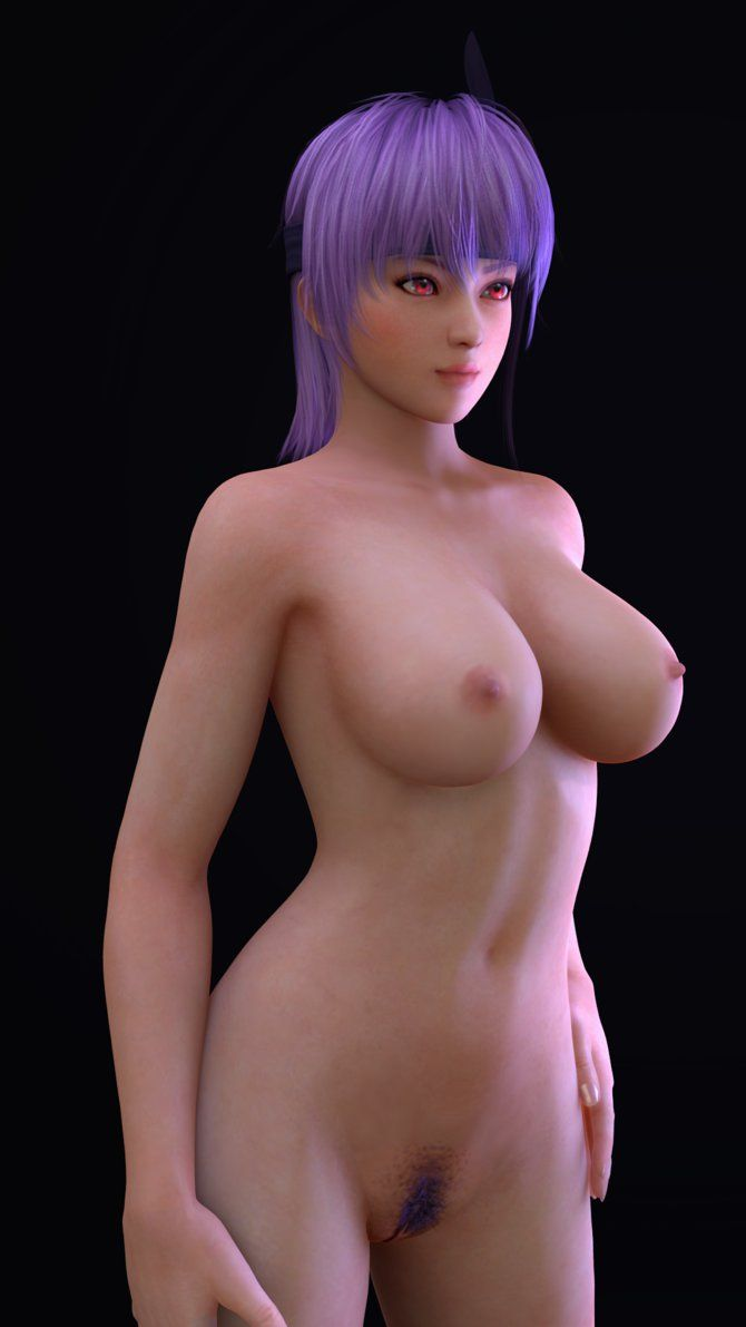 doa5 nude ayane Ayane Nude Render- 00 by Dizzy-XD