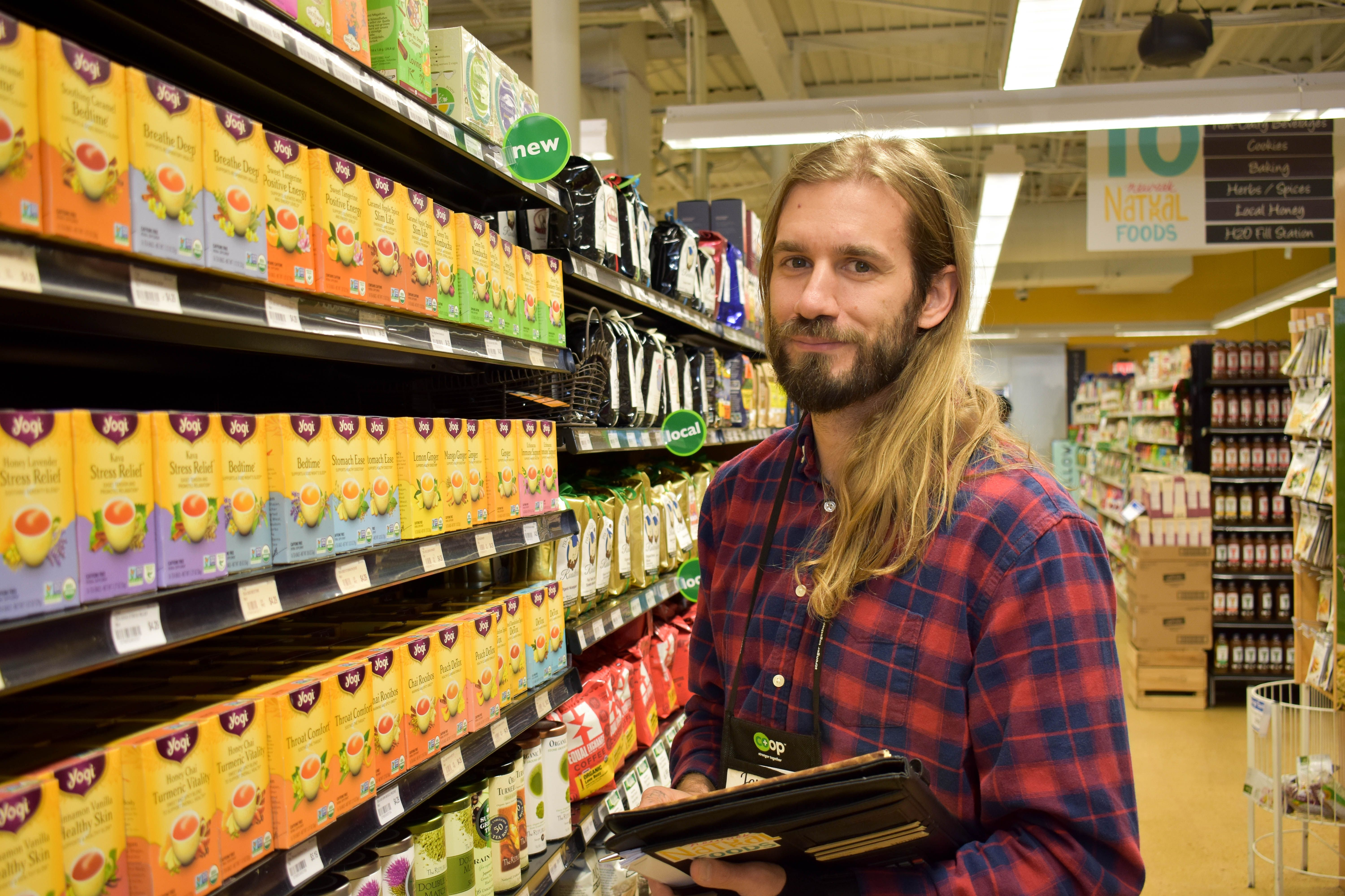 Jeremy Our Grocery Manager We Love Him Natural Food Grocery Foods Grocery