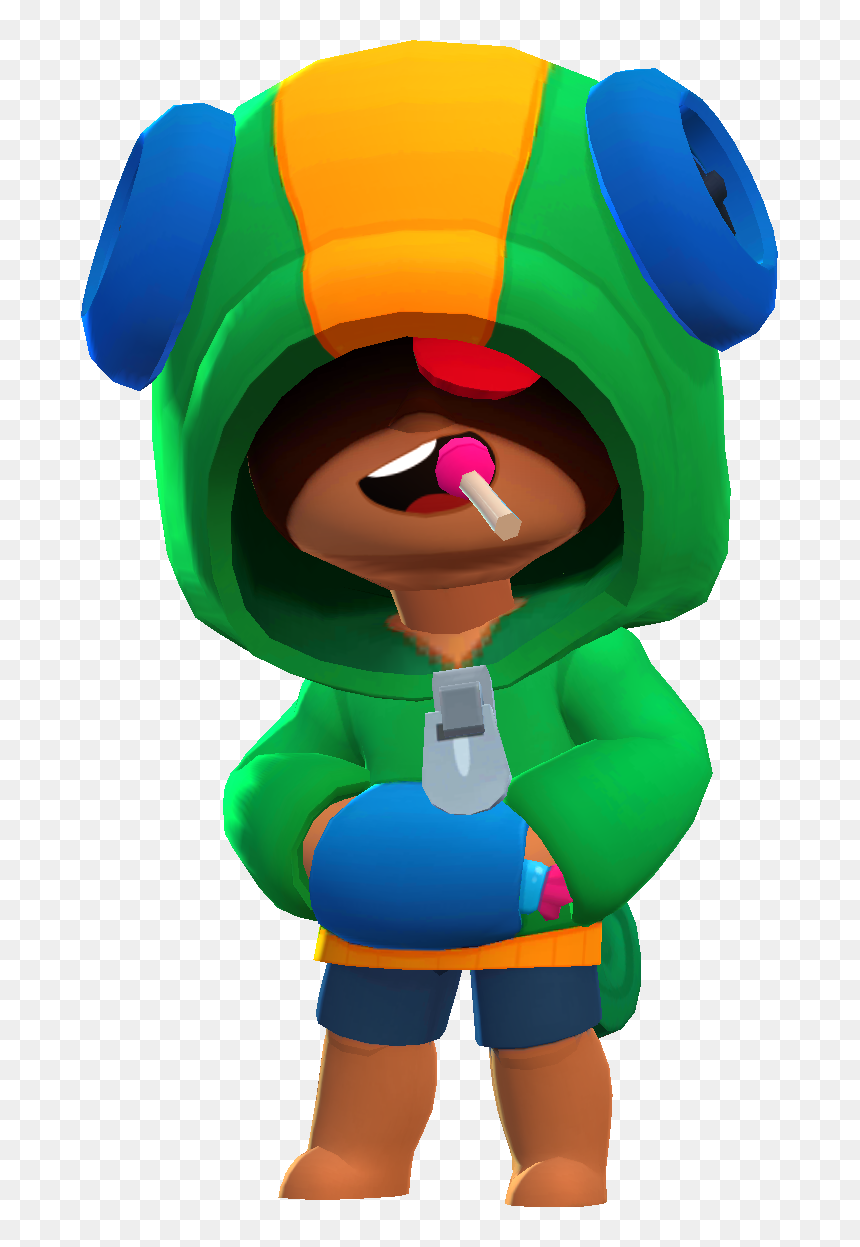 Transparent Leon Png Leon Brawl Stars Png Png Download Is Pure And Creative Png Image Uploaded By Designer To Search Mo Star Character Brawl Star Wallpaper