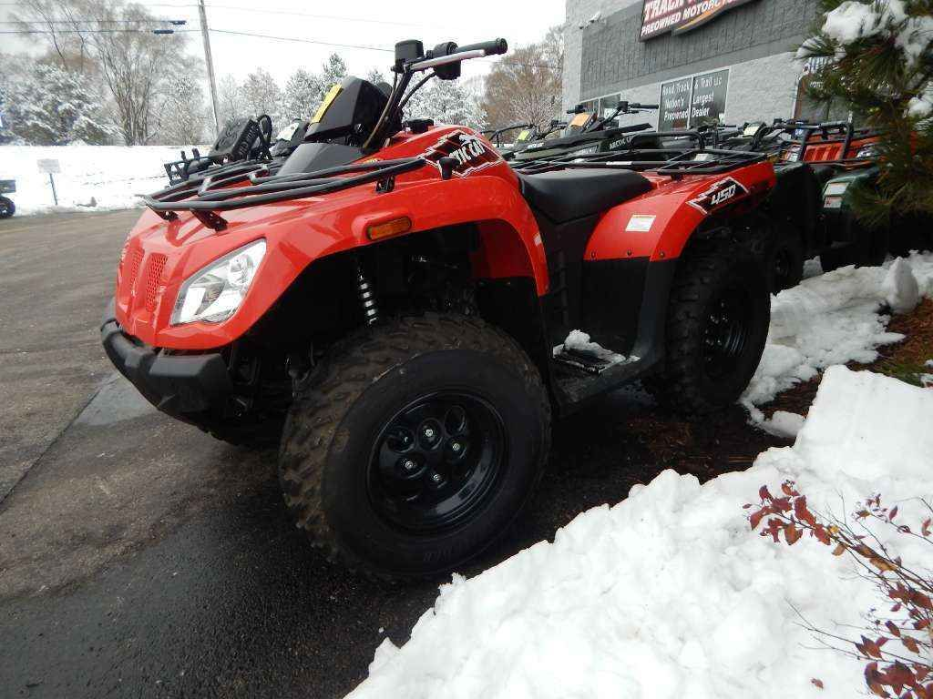 Used 2015 Arctic Cat 450 ATVs For Sale in Wisconsin. 2015 Arctic Cat 450, ONLY 60 MILES!! AUTOMATIC, 4X4, IRS, CLEAN UTILITY QUAD!! - Give us a call toll free at 877=870-6297 or locally at 262-662-1500. New Used Sport Trail Performance Preowned Youth Crossover. There will be more pictures available upon request. We also offer great financing terms for qualifying credit. Call us for buying or trading your motorcycle, atv, or snowmobile. The minimum operator age of this vehicle is 16.