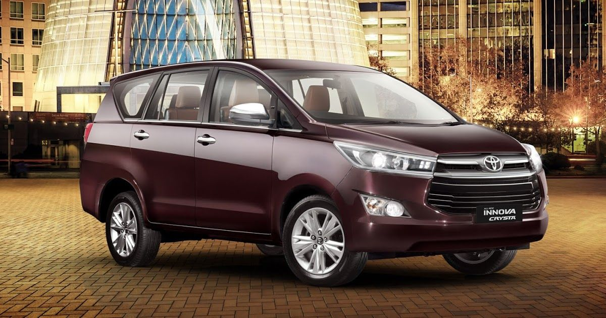 Toyota Launched Innova Crysta Fortuner 2019 Grab The First Look Toyota Innova Used Toyota Car