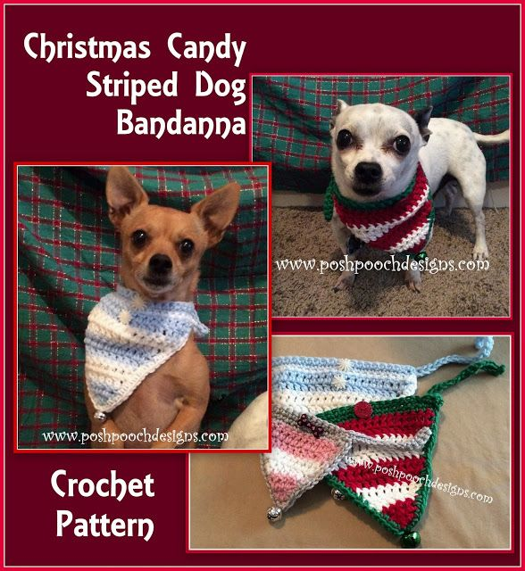 Posh Pooch Designs Dog Clothes 4 Christmas In July Free Crochet