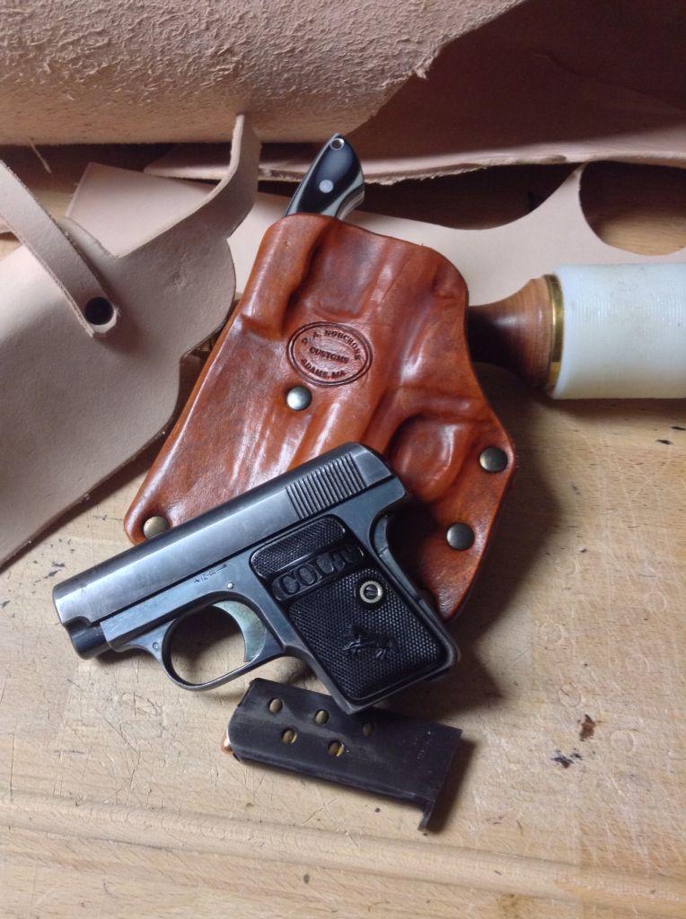 EDC Pocket holster for the FN 1905 (pictured) or Colt 1908
