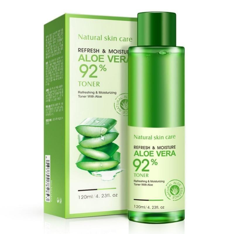Bioaqua 120ml Beauty Natural Aloe Vera Toners Plants Essence Skin