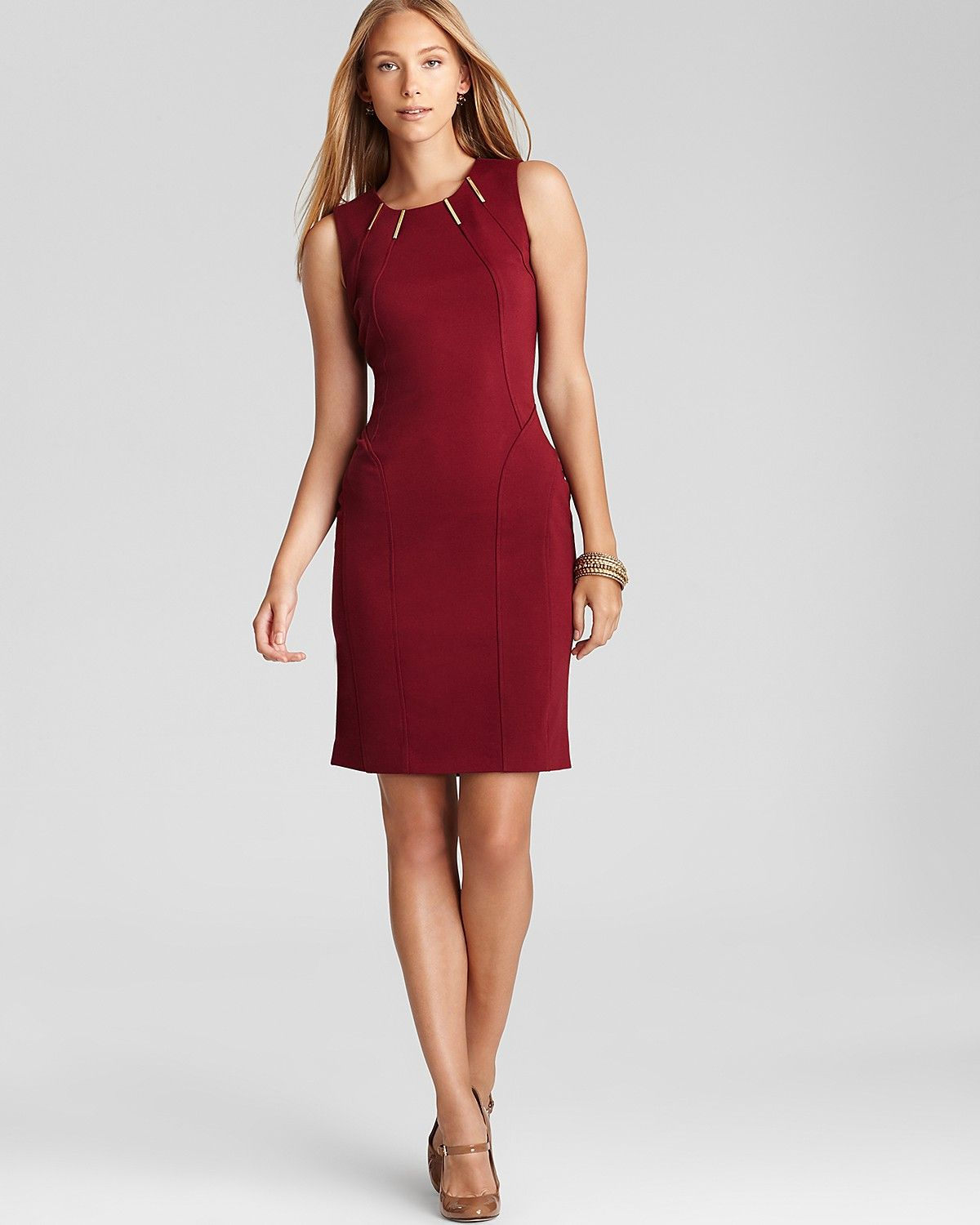 48514fc0b3e Calvin Klein Dress with Hardware