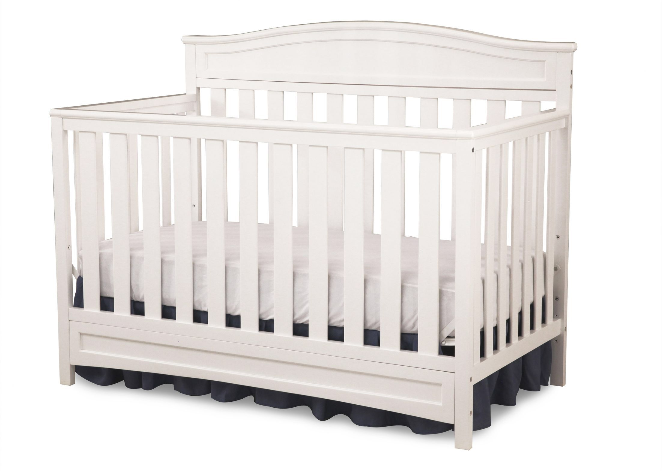 Emery 4 In 1 Convertible Crib Baby Cribs Convertible Convertible Crib White Best Baby Cribs