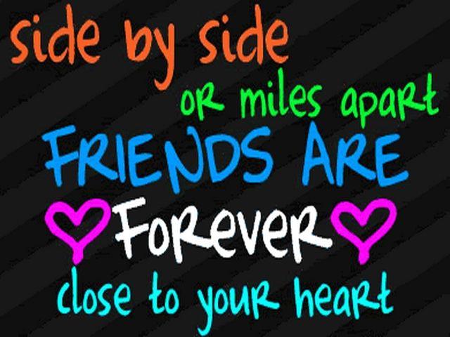 Miles apart friendship quotes