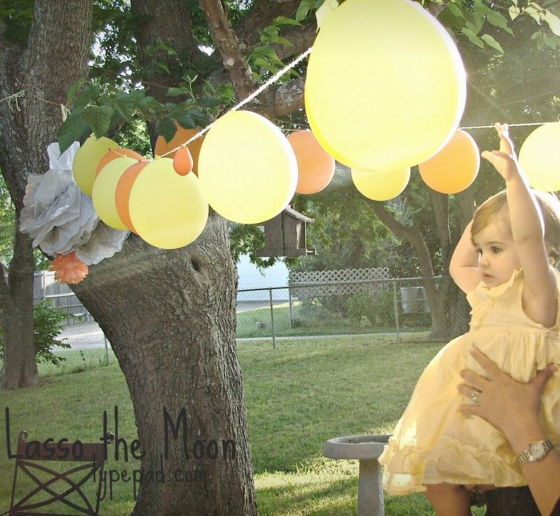 You Are My Sunshine - Esther's 1st Birthday Party