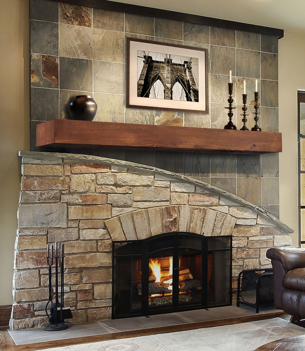 8 Perfect Ways To Make Your Fireplace The Focal Point. Fireplace  IdeasFireplace MantelsWood ...