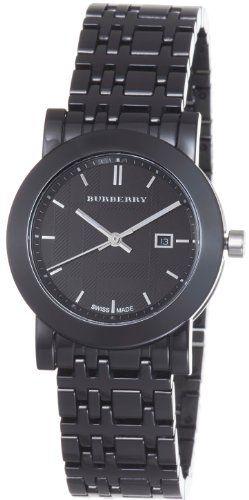 Burberry Women's BU1871 Ceramic Black Dial Bracelet Quartz Watch for only $529.00 You save: $266.00 (33%) + Free Shipping