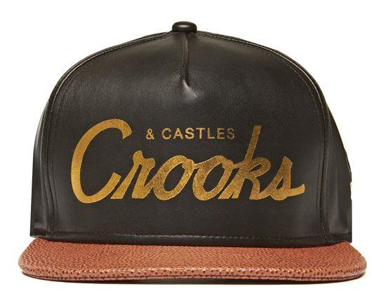 Thuxury Crooks Strapback Cap by CROOKS & CASTLES