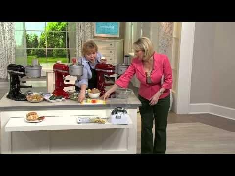 Pasta Roller & Cutter Set (KPRA), Pasta Press (KPEXTA) & Ravioli Maker (KRAV) Attachments - YouTube