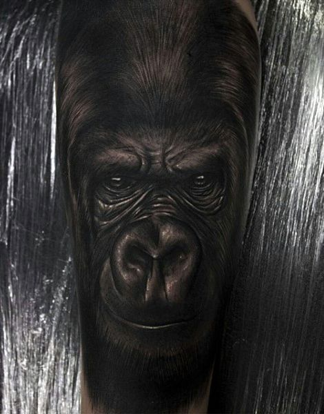 b2deaf012 100 Gorilla Tattoo Designs For Men - Great Ape Ideas | Tattoos For ...