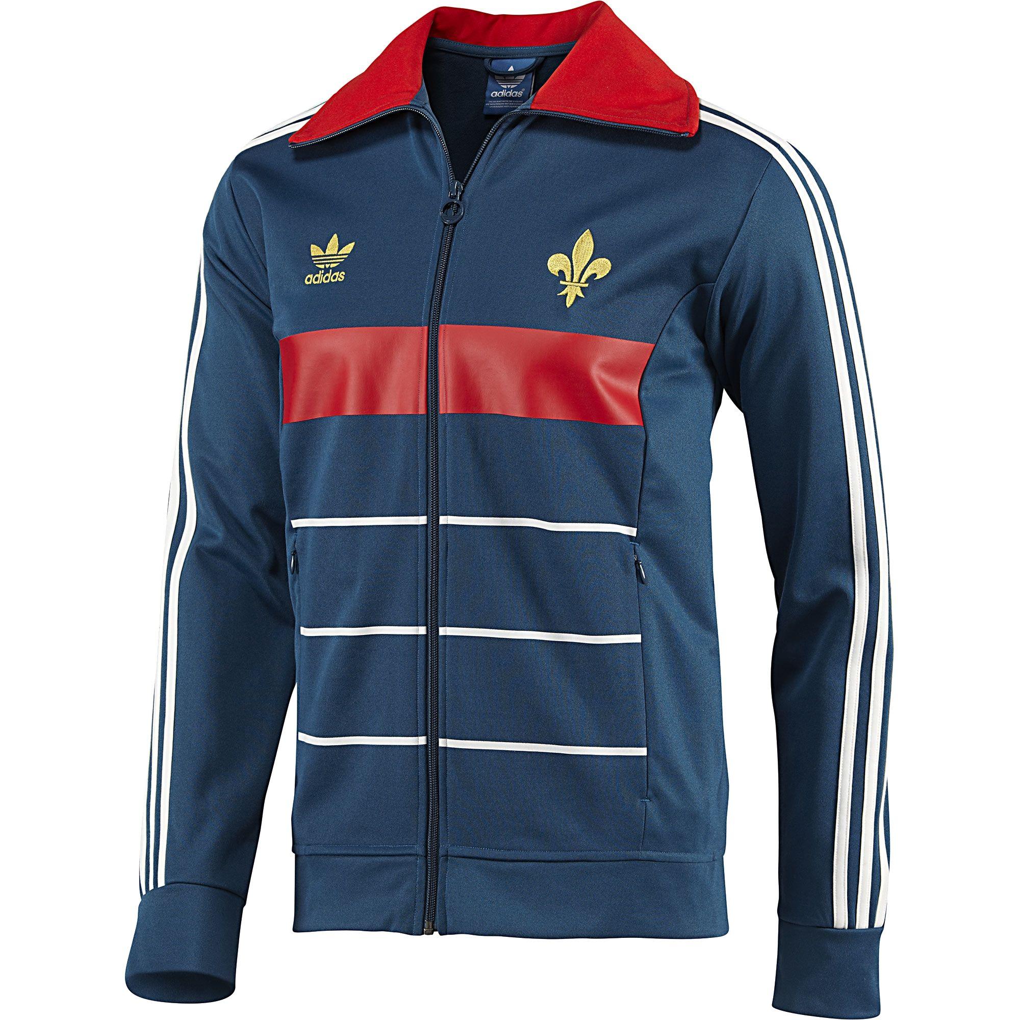 adidas Fransa Track Top Ceket | Adidas, Erkek giysileri