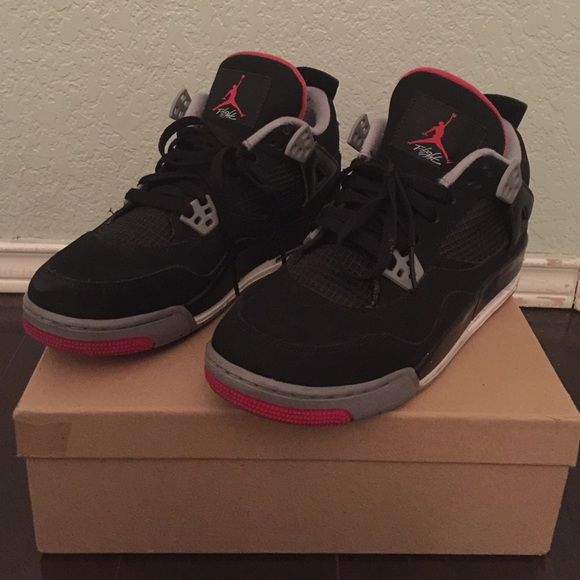 Bred 4's. Size 6.5y/6.5 mens. | Jordans