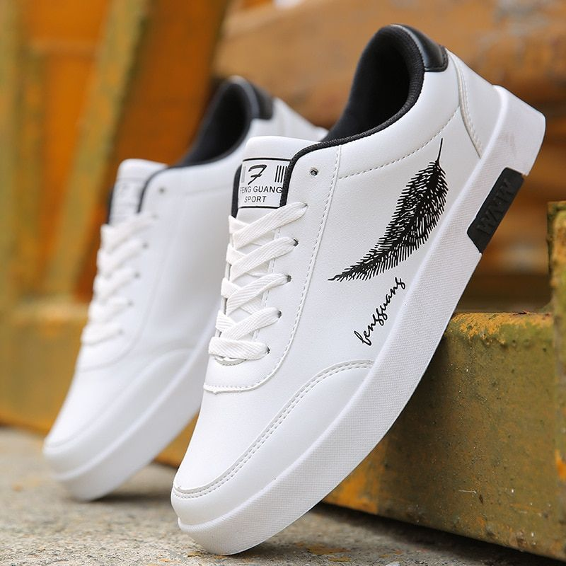 Mens Lace Up Low Top Fashion Leisure Outdoor Canvas Athletic Sneakers Shoes Hot