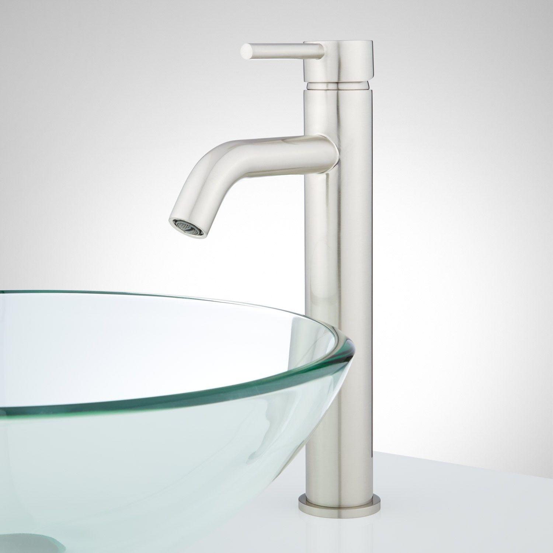 Bolin Single-Hole Vessel Faucet | Vessel faucets, Faucet and ...