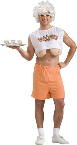 Adult Droopy Bosoms Funny Mens Halloween Costume | Sweet ...