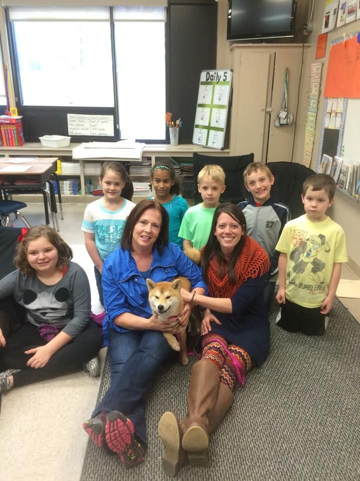Jeaneen was a guest speaker for Erin Alsabrook\'s 2nd Grade class at ...