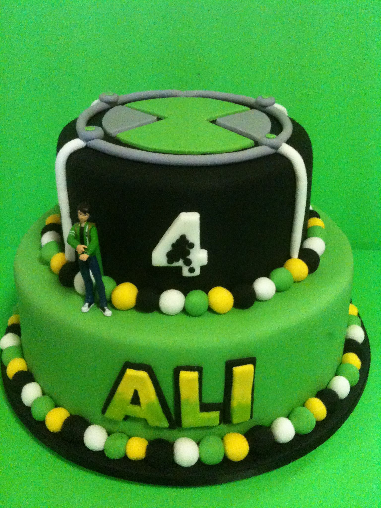 Ben 10 Birthday Cake With Images Ben 10 Birthday Birthday