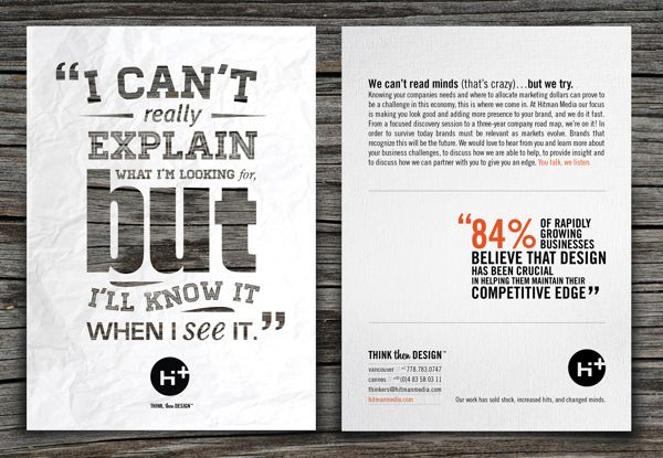 Typographic Option Could Be Nice Like How We Did For That Advert