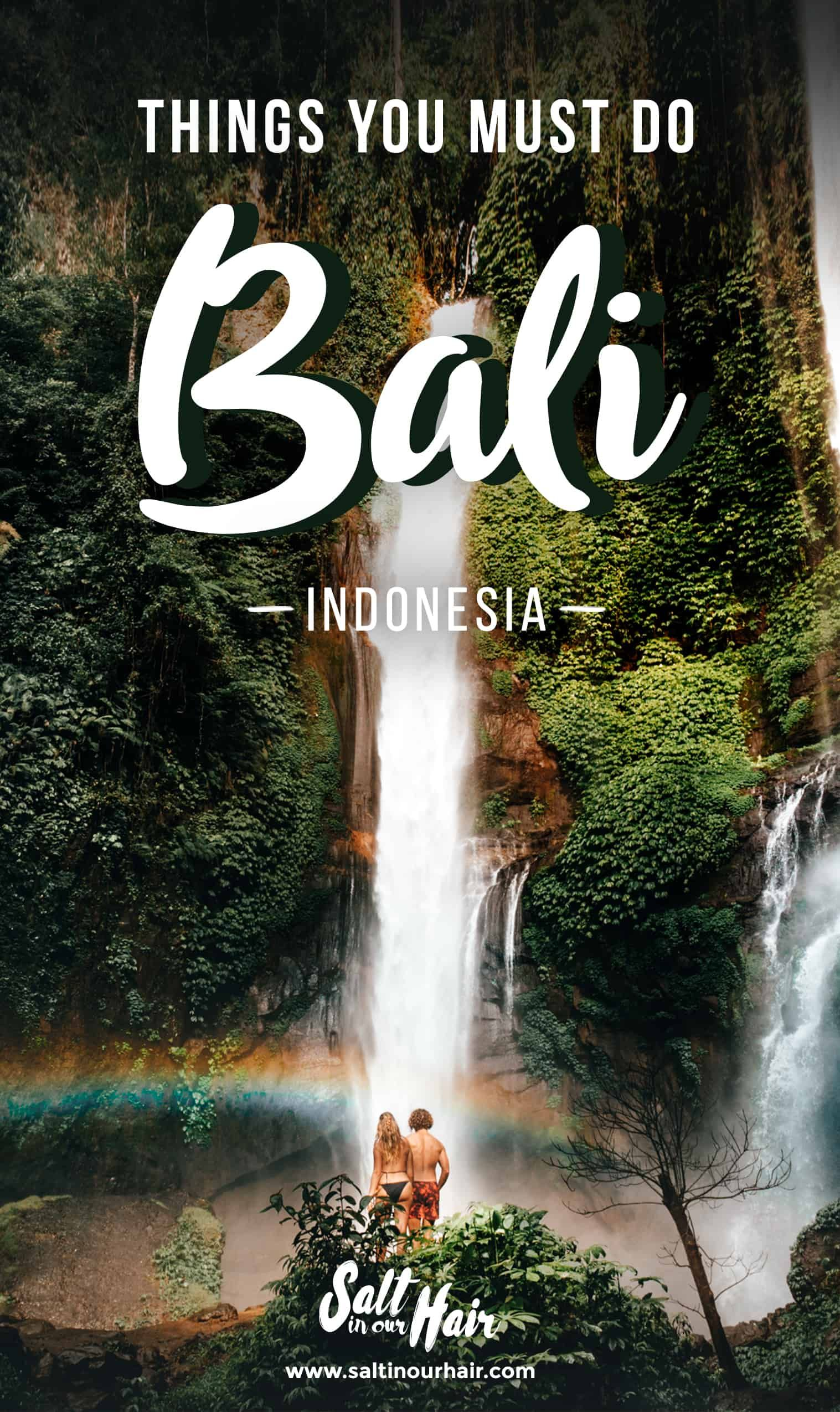 12 Things You Must Do Bali Indonesia Waterfalls Secret Gems