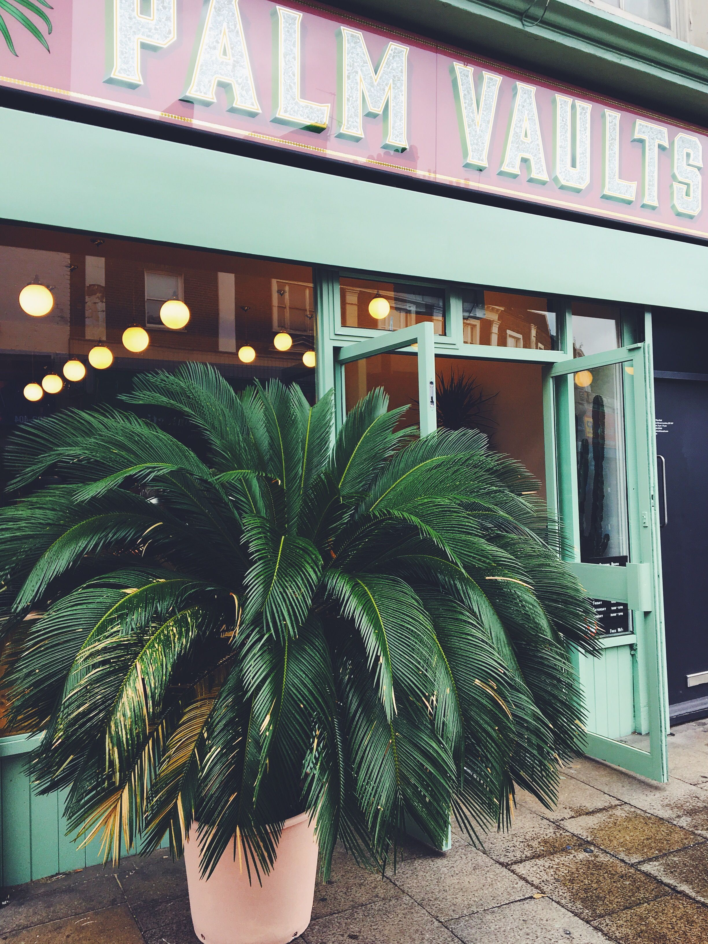 Londons Most Instagram Friendly Cafe Hackneys Palm Vaults