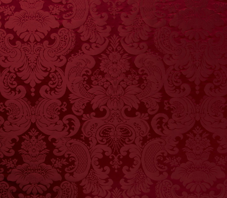 red damask wallpaper 2019 Bedroom wallpaper red, Damask