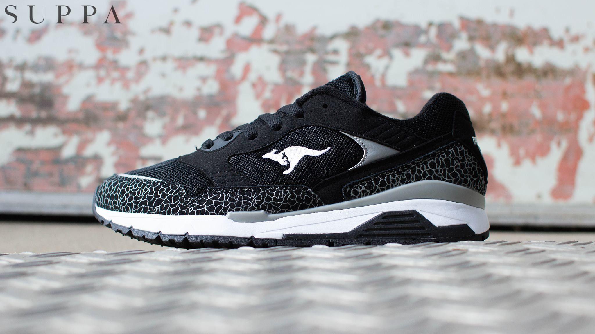 Kangaroos Ultimate Black And Red Sneakers Underarmor Sneaker