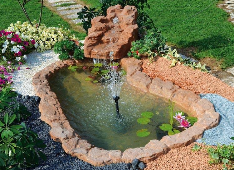 Laghetto Con Cascata Da Giardino : Pin di dimensione 3d su cose da comprare pinterest giardino