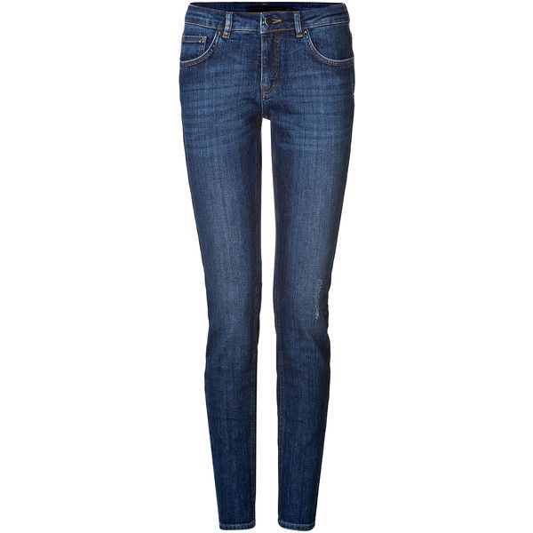 Manchester Online super skinny jeans - Blue Victoria Beckham Free Shipping Geniue Stockist Fashion Style Marketable Cheap Sale Popular oM09OnFK6x