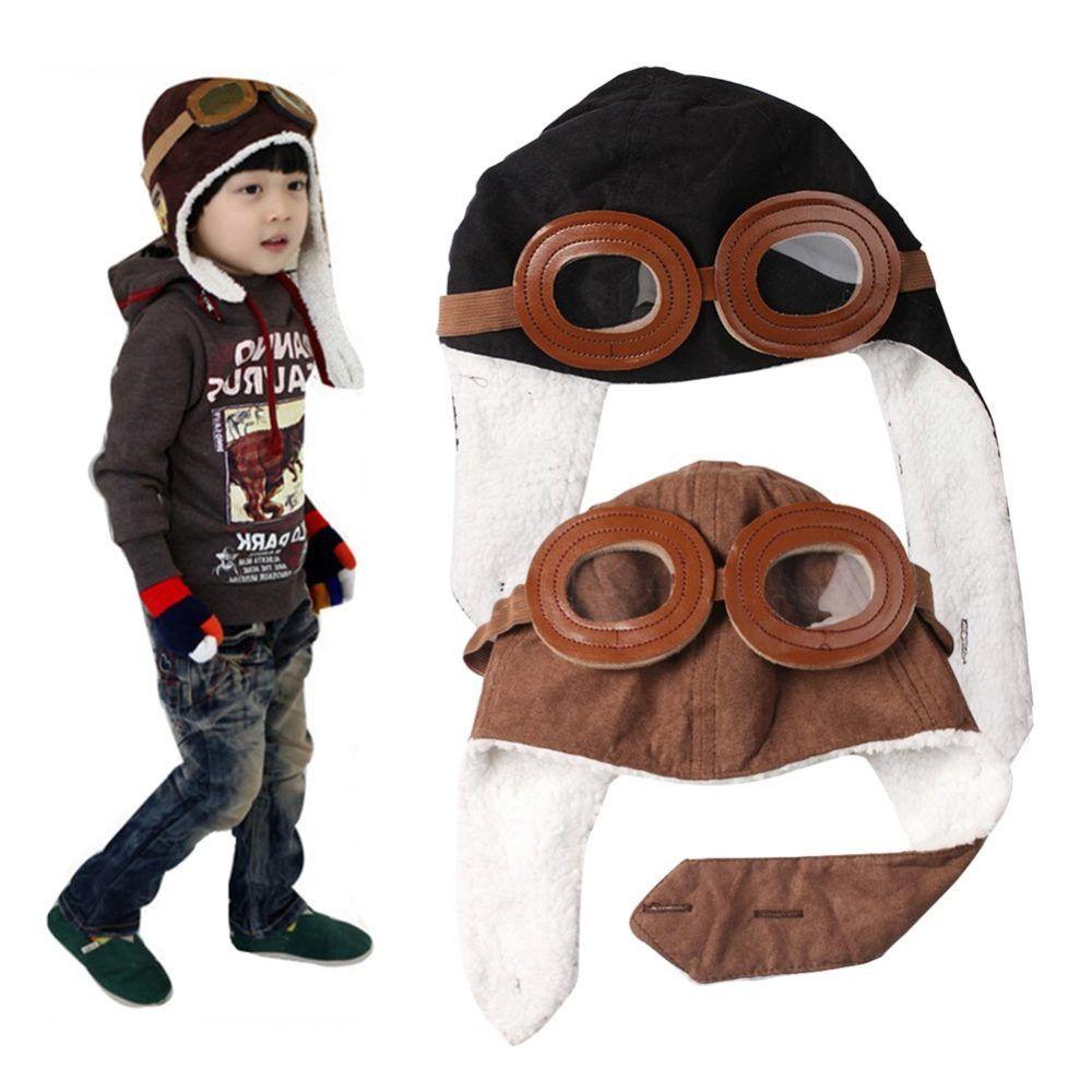 17873e75e688c 2019 New Fashion Baby Toddler Boy Girl Bomber Hats Kids Pilot Cap Fleece  Warm Hats Earflap Beanie -MX8 Price: 9.95 & FREE Shipping {#babsdropstore.