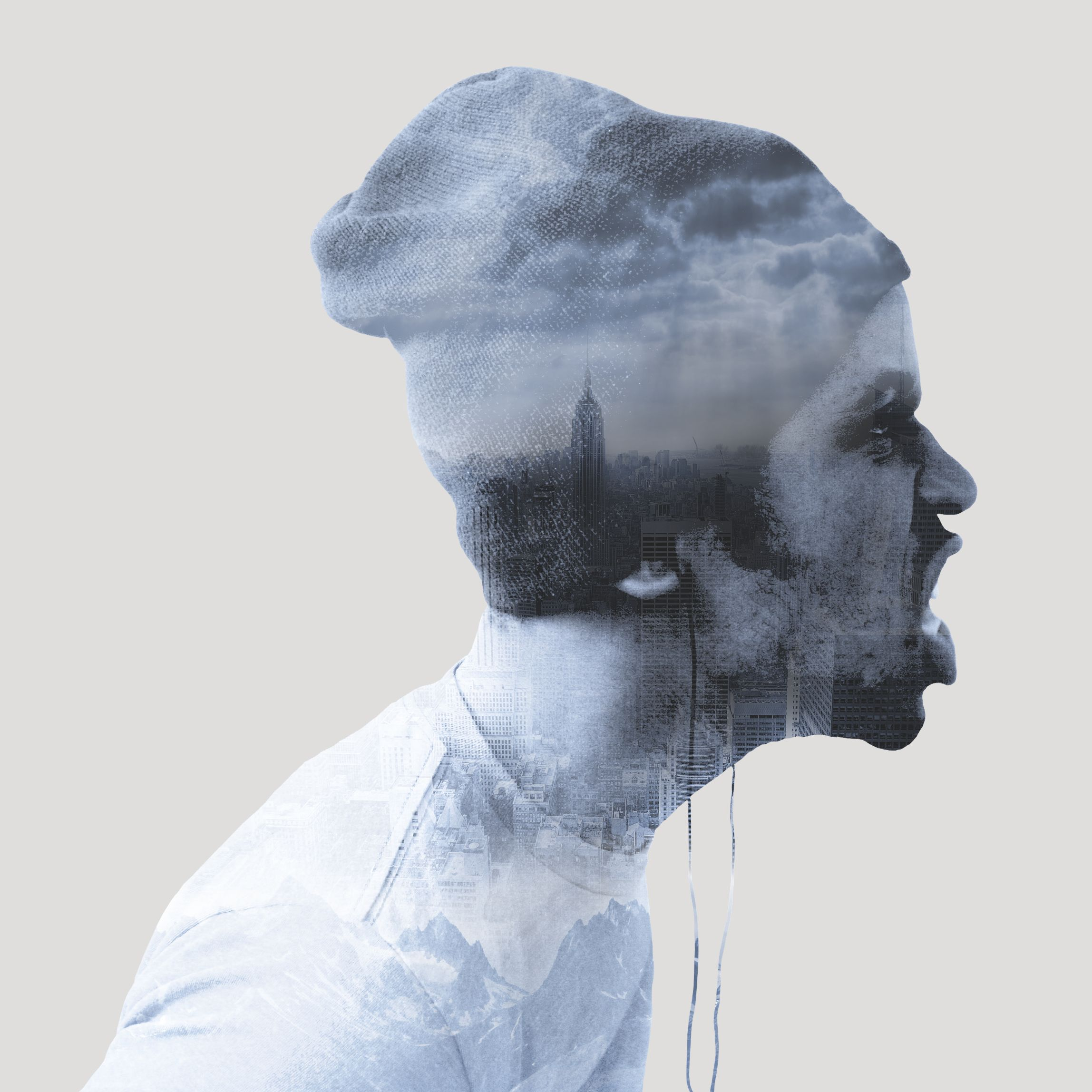 Create a Double Exposure Effect in Gimp | turning into a ...