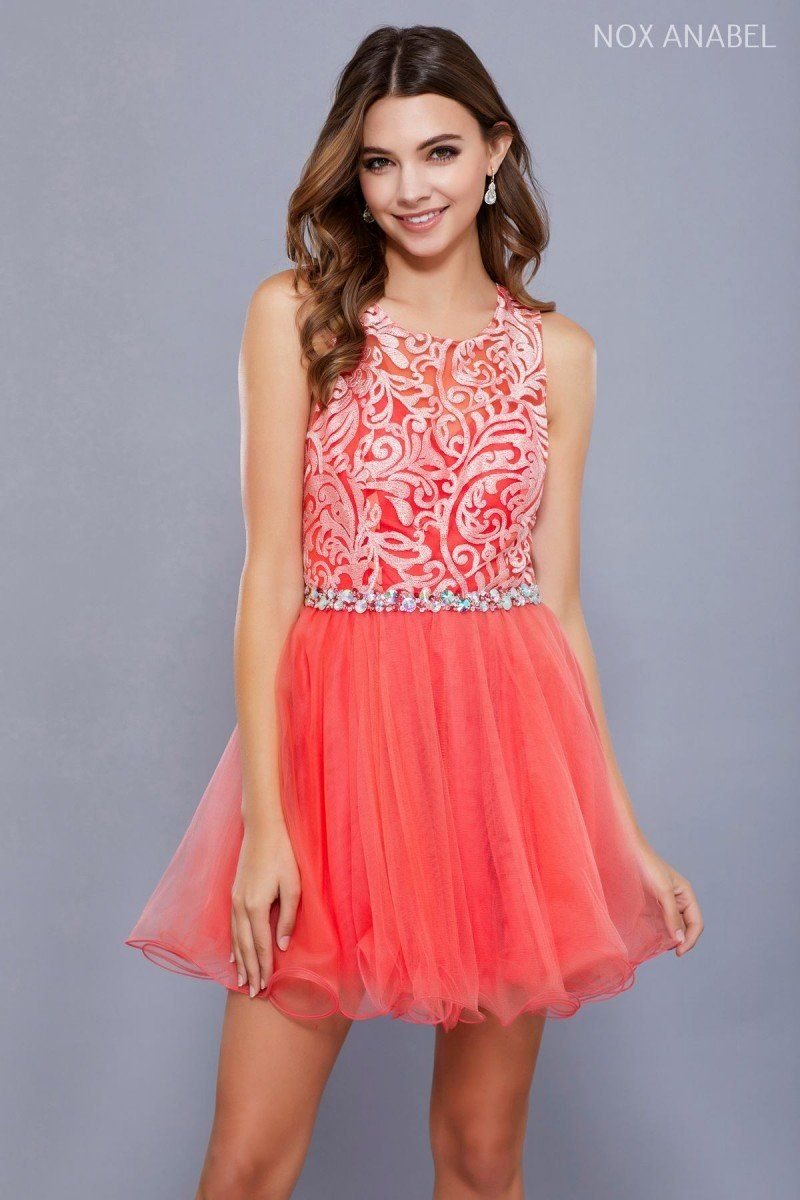 N lace halter with beaded belt u keyhole back in