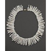 Cultured Freshwater Biwa Pearl Collar Necklace, 16""