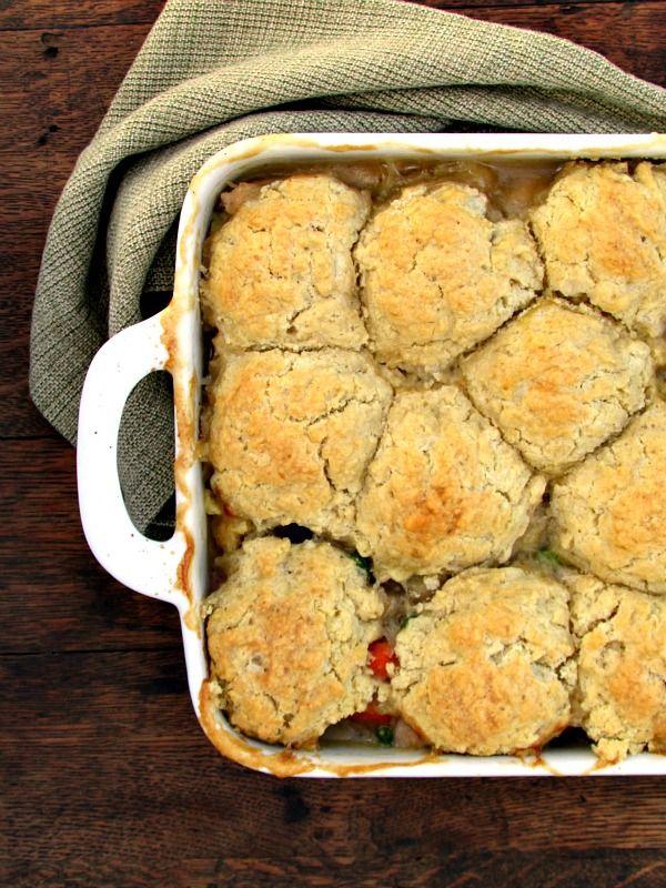 Gluten Free Biscuit Chicken Pot Pie Recipe Gluten free