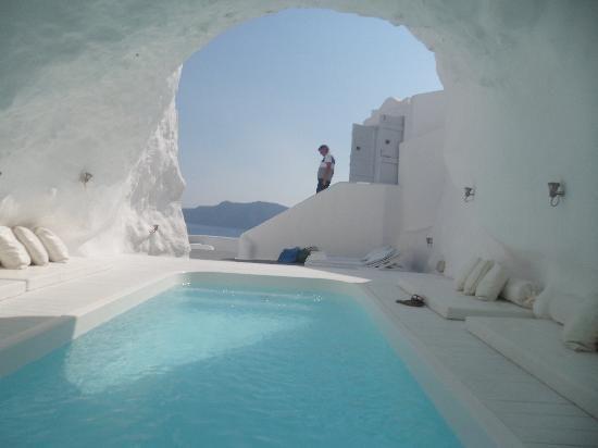 Cave Pool - Santorini