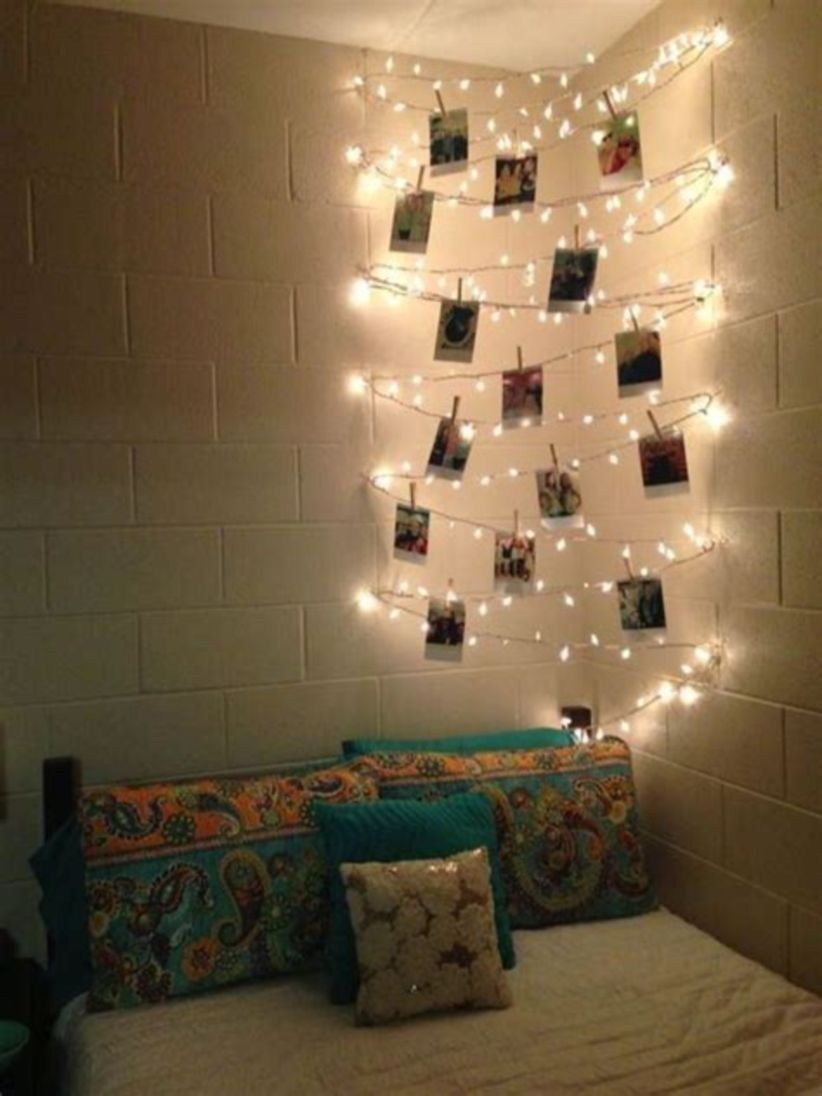 48 Easy And Awesome Wall Light Ideas For Teens Diy Photo Wall