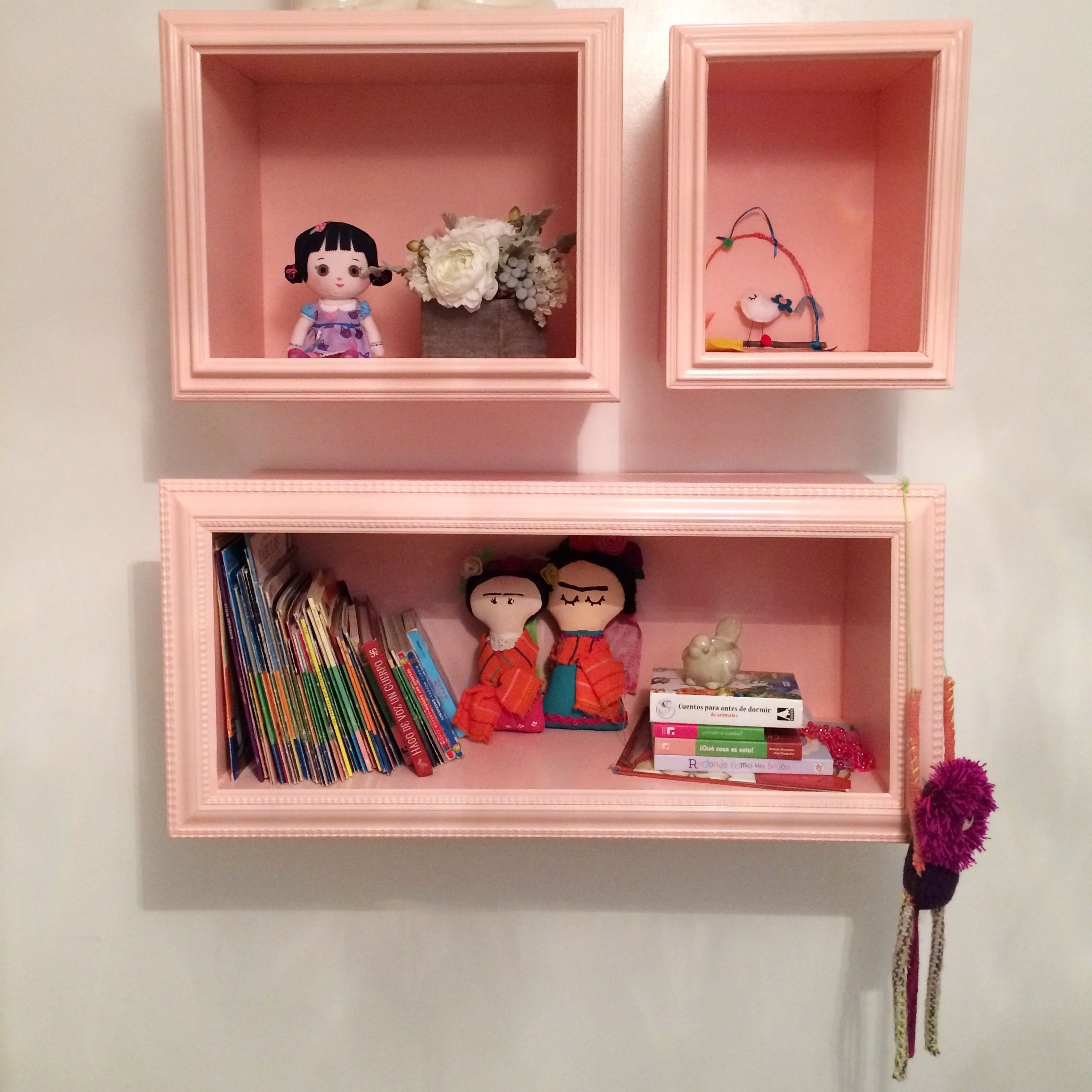 Love These Pink Shelves We Made For An Interior Design