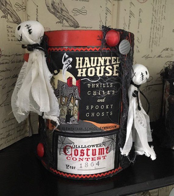 Halloween Haunted house/ Halloween decorations/ ghost decor in 2018